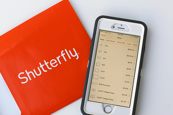 Saving Time & Money with the Shutterfly App