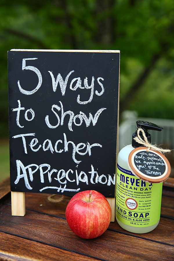5 simple, affordable ways to show teacher appreciation