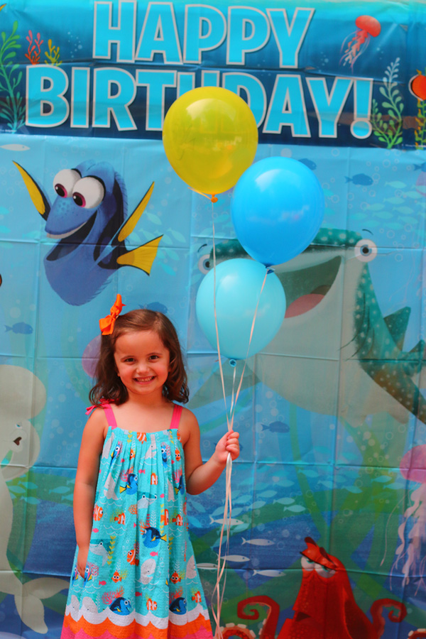 I'm swimming with excitement over this Finding Dory Birthday party.  With so many great photo booth ideas and party games, you'll be finding a reason to throw this party for your next birthday.