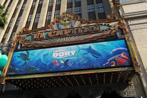 Finding Dory Movie Premiere with Ellen Degeneres