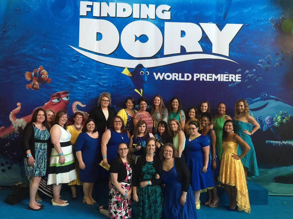 Finding Dory premiere with Ellen Degeneres
