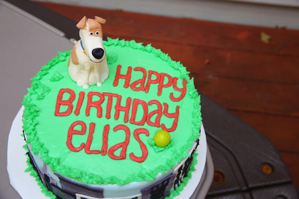 Secret Life of Pets Party with Secret Life of Pets cake and games