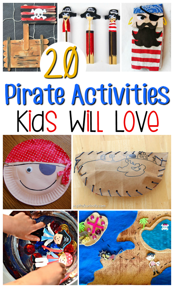 20 Pirate Activities for Kids