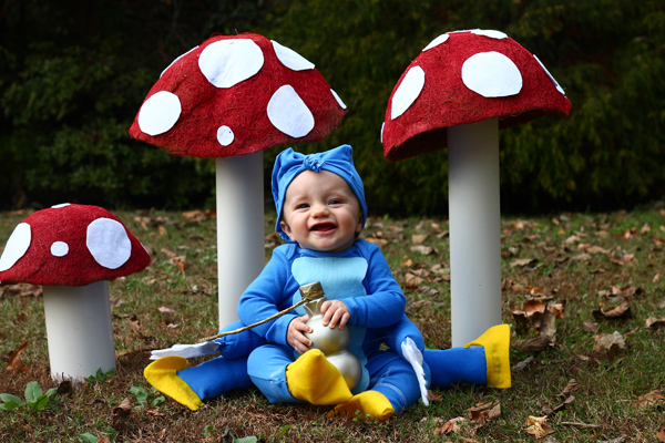Alice in Wonderland Caterpillar costume