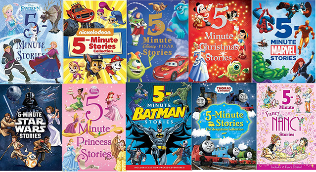HOT DEAL: 50% off 5-Minute Storybook Collections