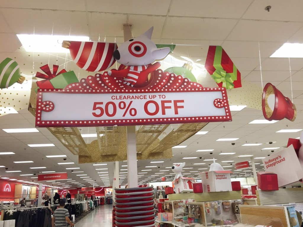 Target Christmas clearance tips