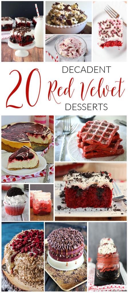 20 Decadent Red Velvet Desserts - 1
