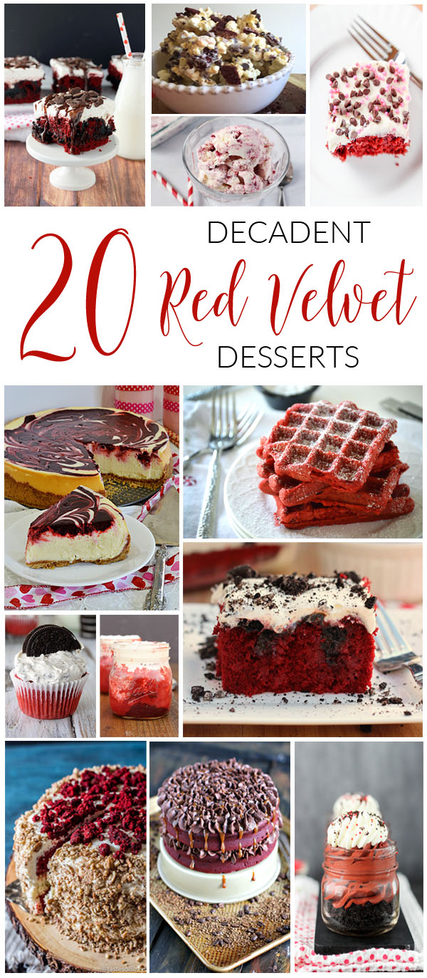 20 Decadent Red Velvet Desserts