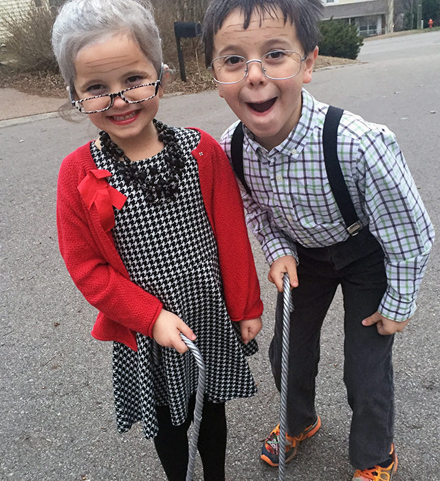 100-Year-Old Kids for 100th Day of School