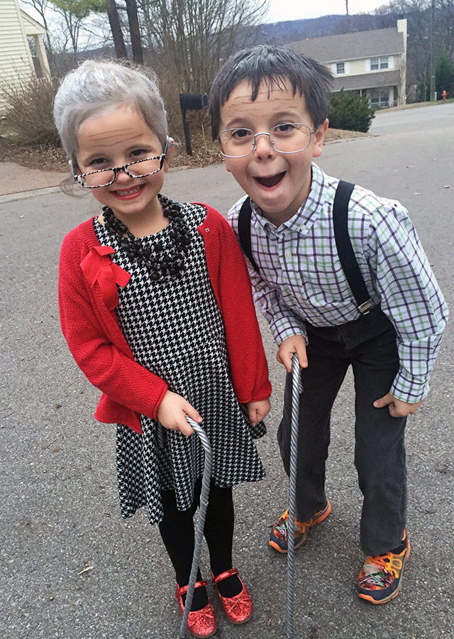 100-Year-Old Kids for 100th Day of School - The Mom Creative