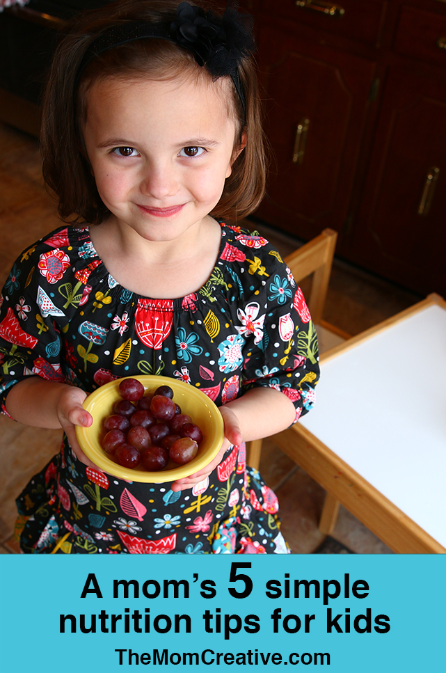 A Mom's 5 simple nutrition tips for kids