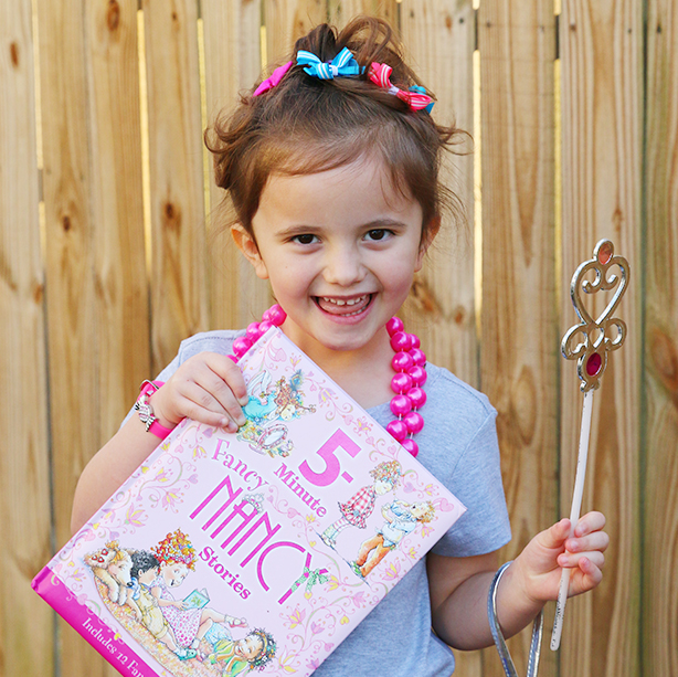 Book Character Costume: Fancy Nancy Costume