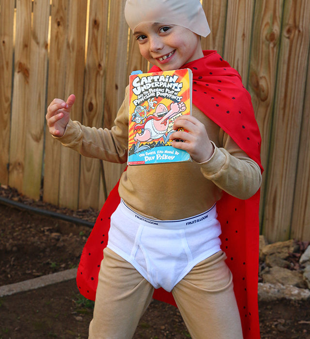Book Character Costume: Captain Underpants