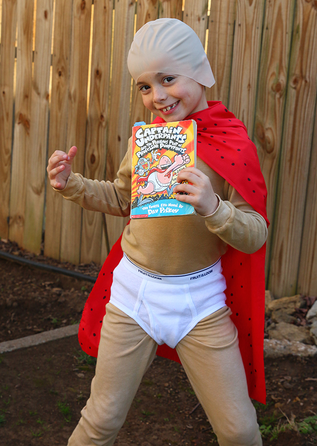 Book Character Costume: Captain Underpants Costume