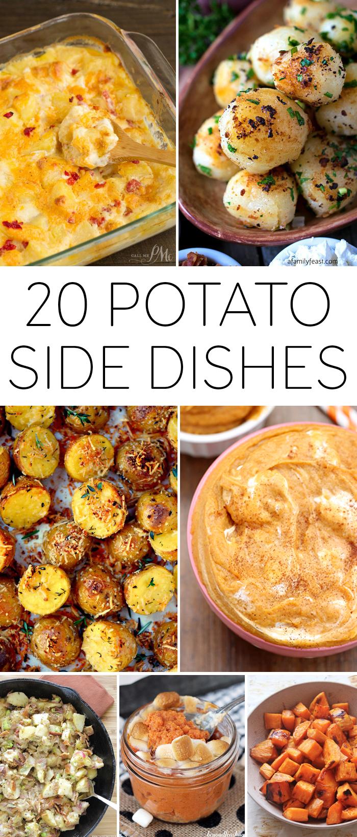 20 Potato Side Dishes