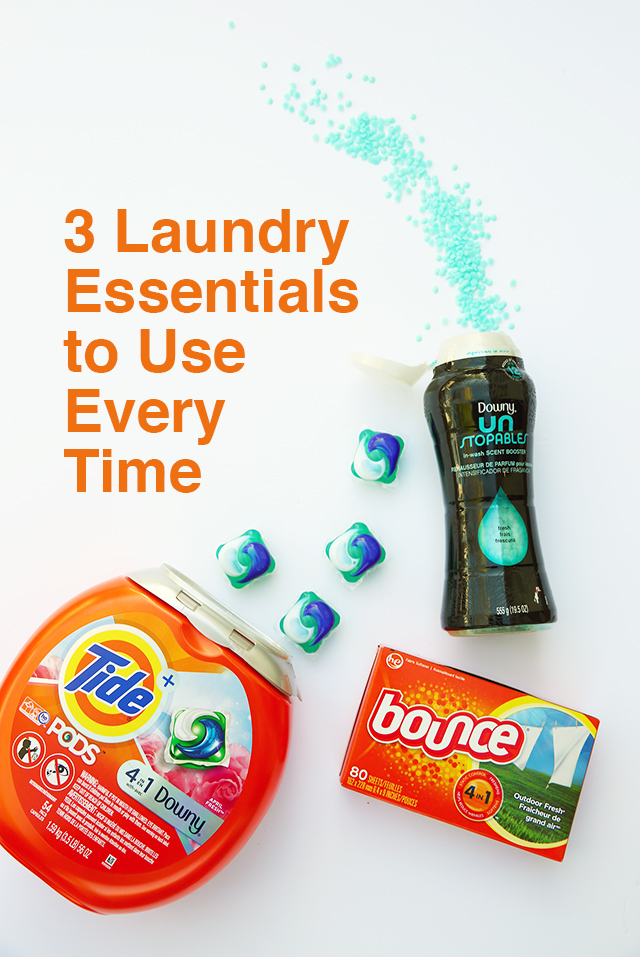 3 laundry essentials to use every time