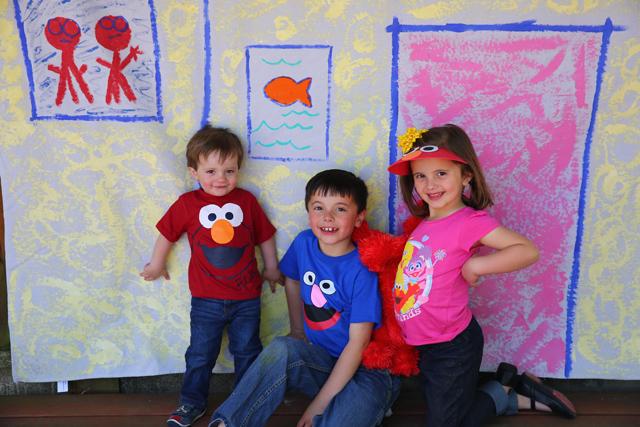 A Sesame Street Birthday Party for Ezra