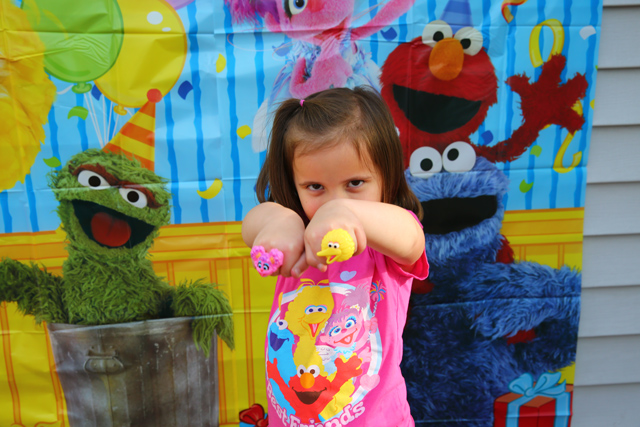 Sesame Street Birthday Party Games