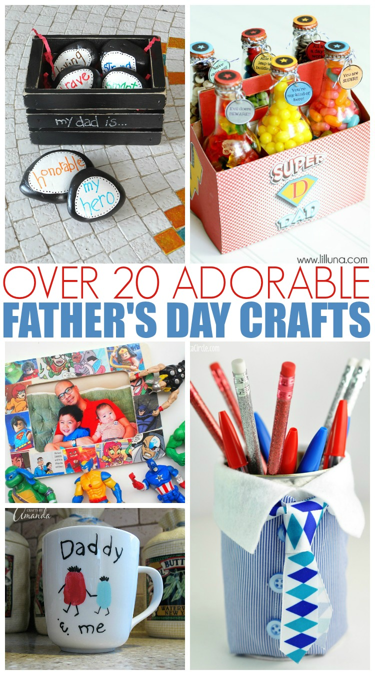 Simple Father's Day Crafts for Kids