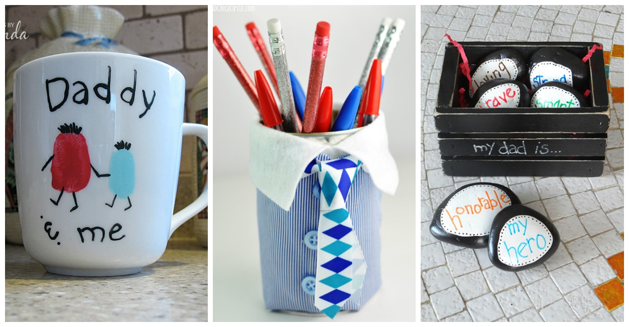 20 Easy Father S Day Crafts For Kids The Mom Creative