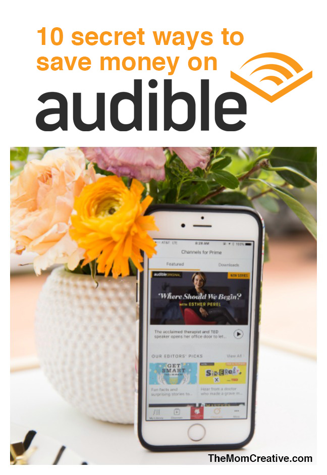 10 tricks for saving money on audible