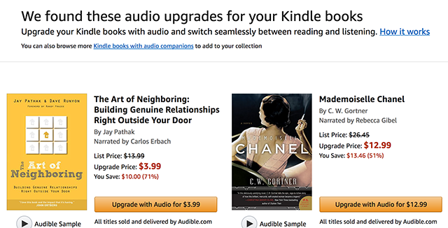 save money on audiobooks