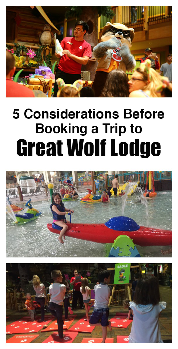 If you are planning a trip to Great Wolf Lodge, this post is a must read regarding cost, length of stay and what to expect.