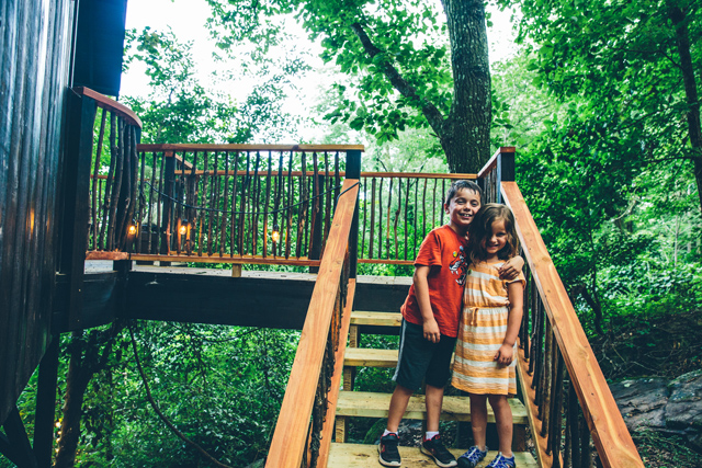A Treehouse Getaway How To Travel Easily With Kids The