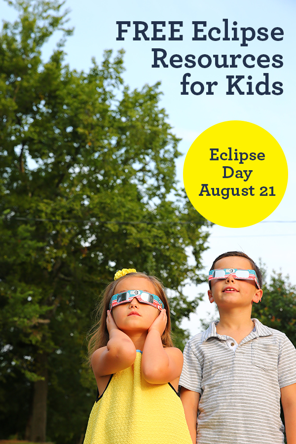 Free eclipse activities and resources for kids for the total eclipse on August 21