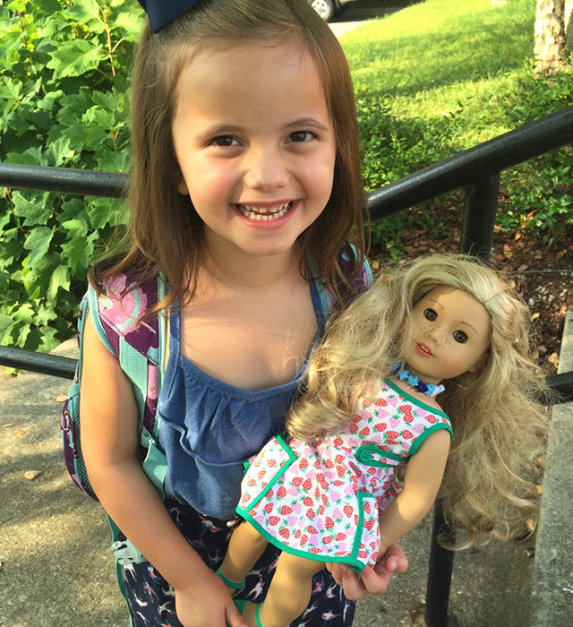 An American Girl Doll for Adeline