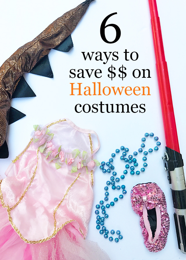 6 ways to save money on Halloween costumes