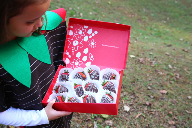 how to make edible chocolate arrangements