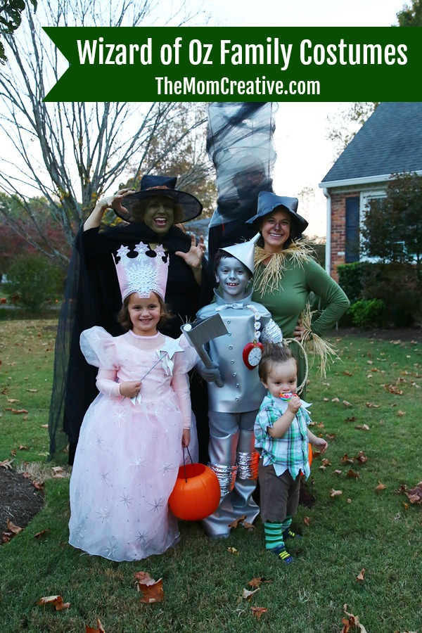 Wizard of Oz Family Costumes with instructions and links