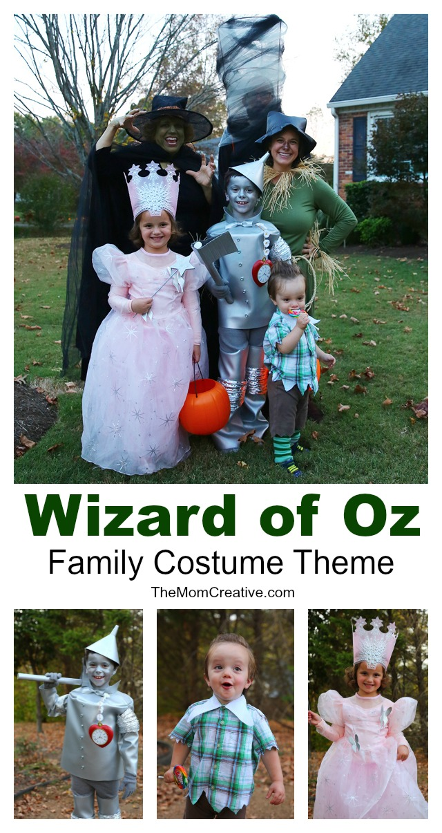 Wizard of Oz Family Costume Theme for Halloween