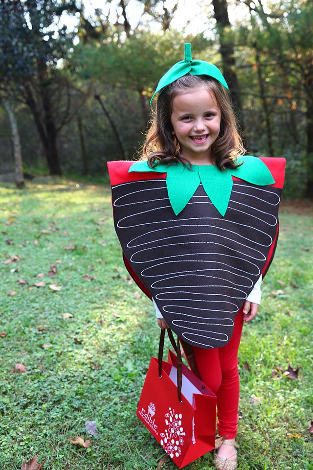 Edible Arrangements Chocolate Covered Strawberry Halloween Costume
