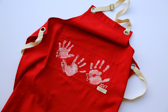 Gift Idea: 3 Easy DIY Aprons