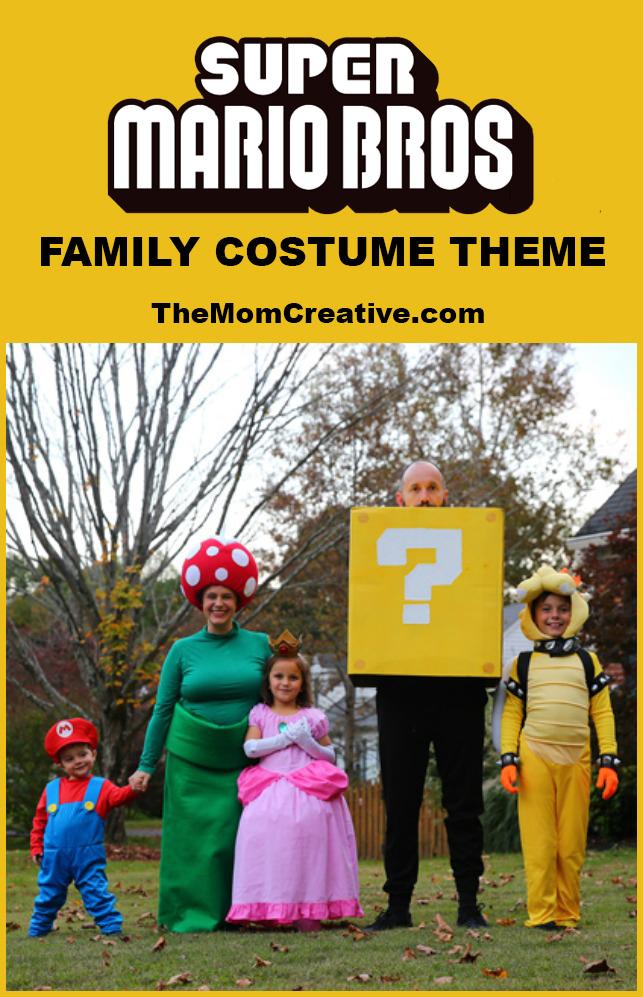 Super Mario Bros. Family Costume Theme
