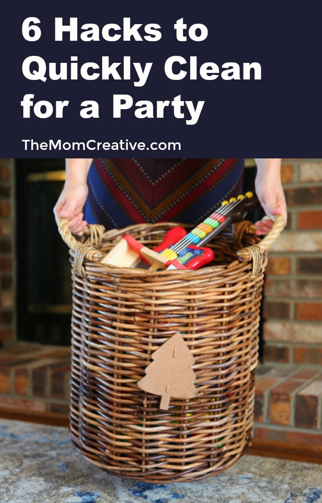 6 Hacks to Quickly Clean for a Party