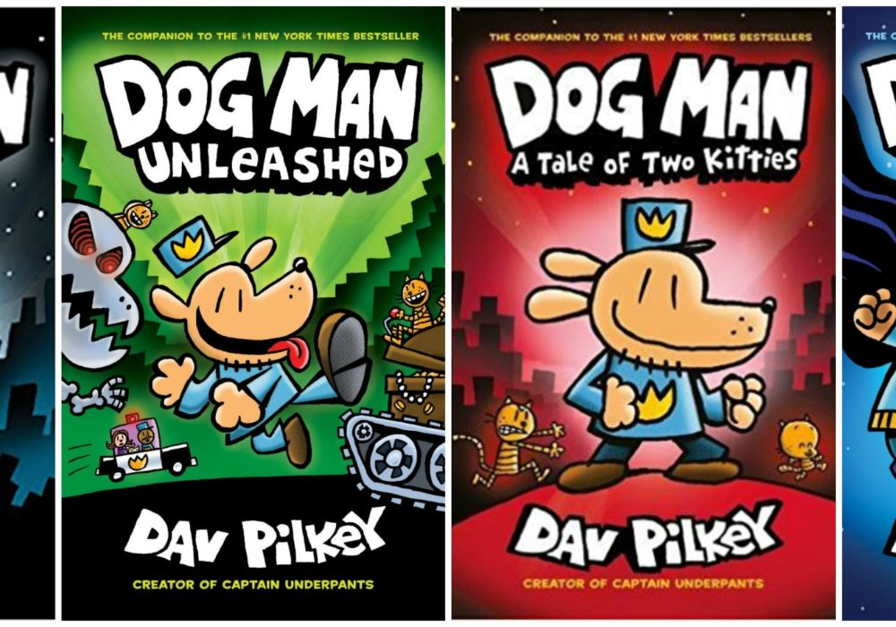 Dog Man Books for 50% Off