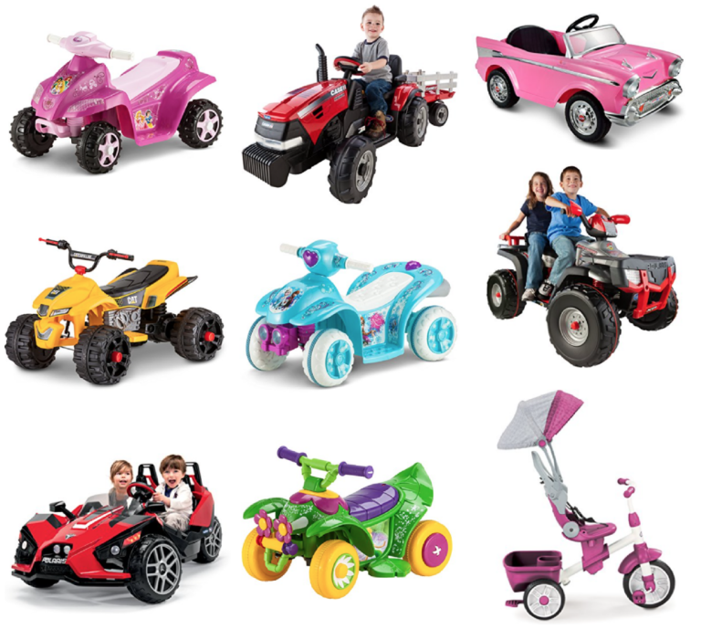 TODAY ONLY: 50% off Ride on Toys