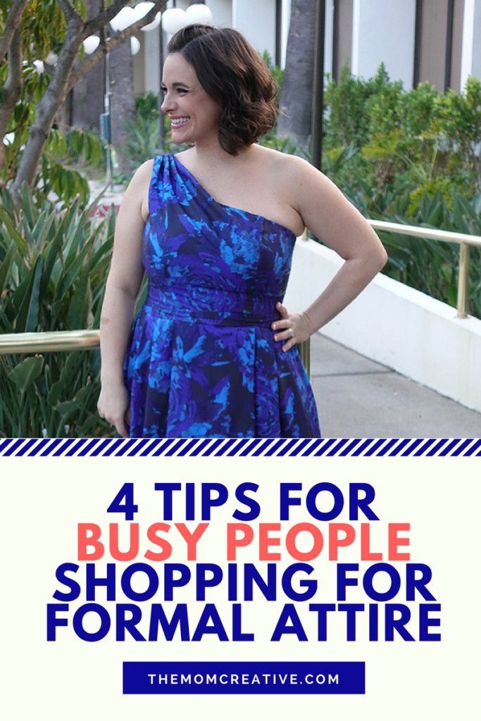 4 tips for busy people shopping for formal attire