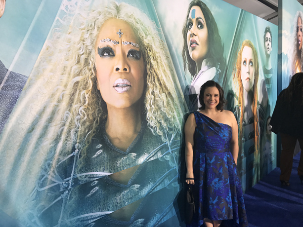 A Wrinkle in Time Movie Premiere with Reese Witherspoon, Oprah Winfrey, Mindy Kaling and Ava Duvernay