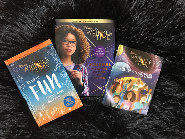 A wrinkle in time movie tie in books