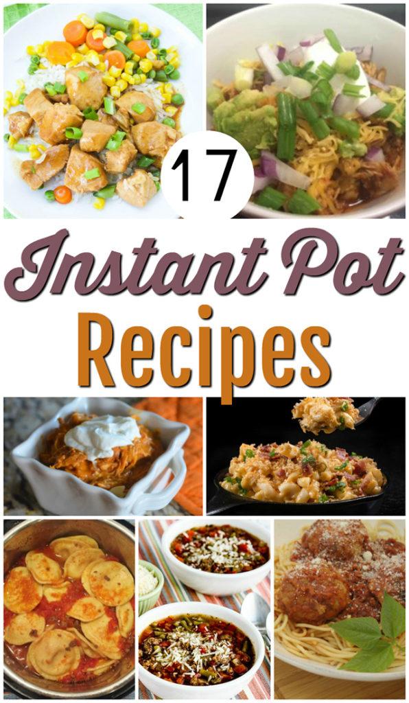 17 Easy InstaPot Recipe