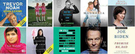 Top 10 Memoir Audiobooks