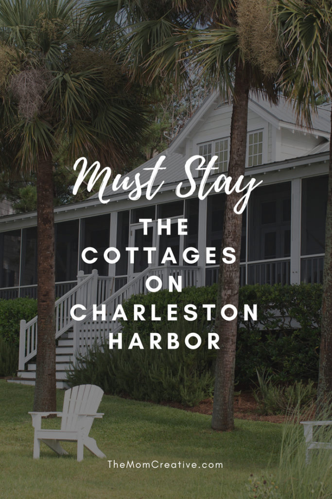 Must Stay: The Cottages on Charleston Harbor The perfect Charleston vacation