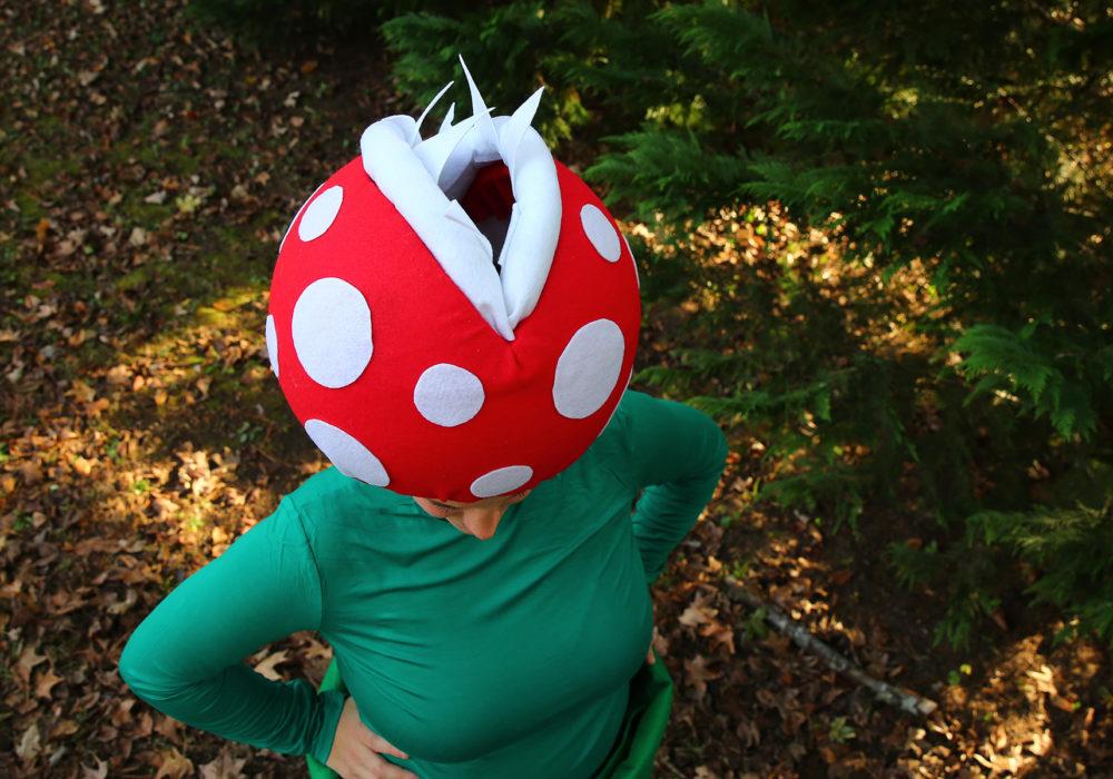 Costume Tutorial: Venus Flytrap + Pipe from Super Mario Bros.
