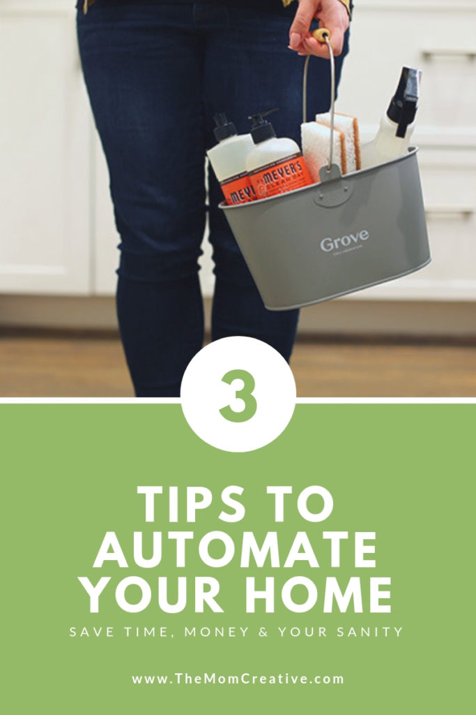 3 steps to automate your home + a free Mrs. Meyer's gift set