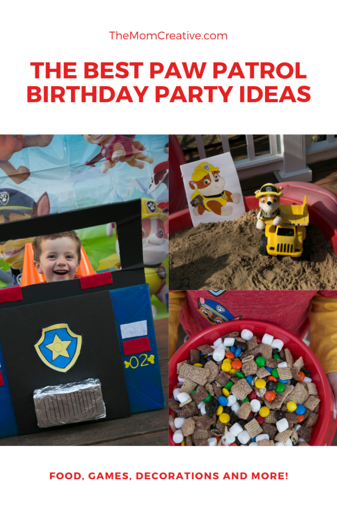 The Best Paw Patrol Party Ideas Games Cake