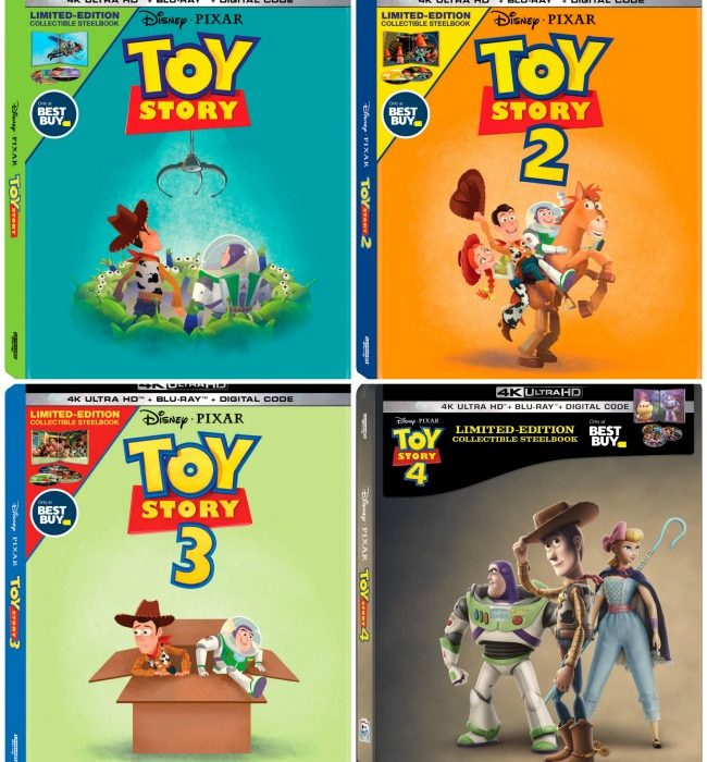 Toy Story Steelbooks at BestBuy